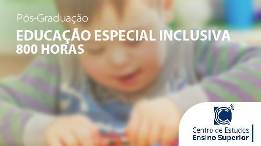 Educação Especial Inclusiva 800h