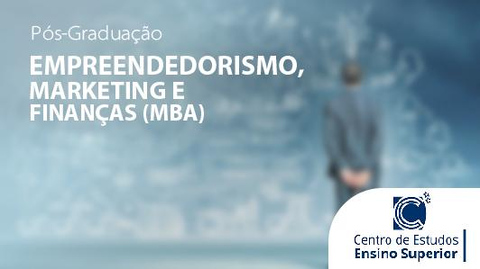 MBA em Empreendedorismo, Marketing e Finanças