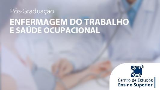 Enfermagem do Trabalho e Saúde Ocupacional