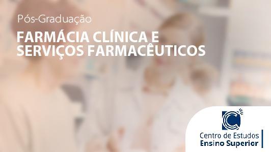 Farmácia Clínica e Serviços Farmacêuticos