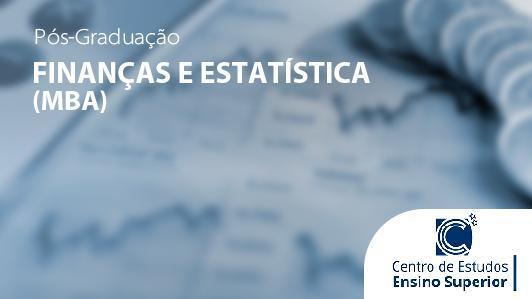 MBA em Finanças e Estatística