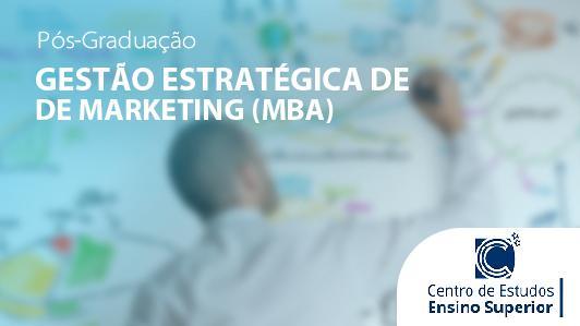 Mba Em Gestão Estratégica De Marketing