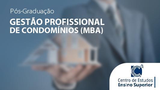 MBA em Gestão Profissional de Condomínios