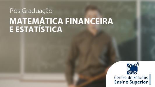 Matemática Financeira e Estatística