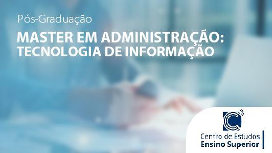 Master Em Administração: Tecnologia De Informação