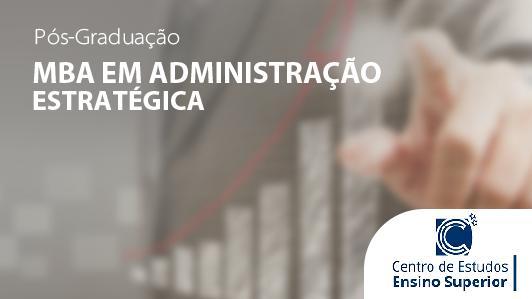 MBA em Administração Estratégica