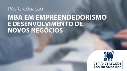 Mba Em Empreendedorismo E Desenvolvimento De Novos Negócios
