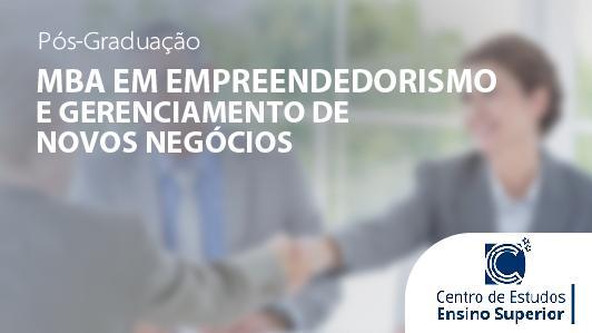 Mba Em Empreendedorismo E Gerenciamento De Novos Negócios