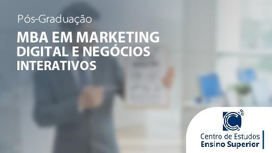 MBA em Marketing Digital e Negócios Interativos