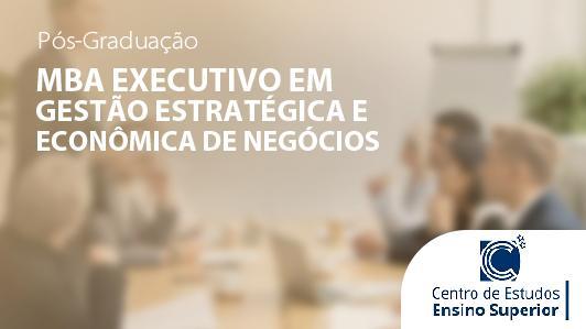 Mba Executivo Em Gestão Estratégica E Econômica De Negócios