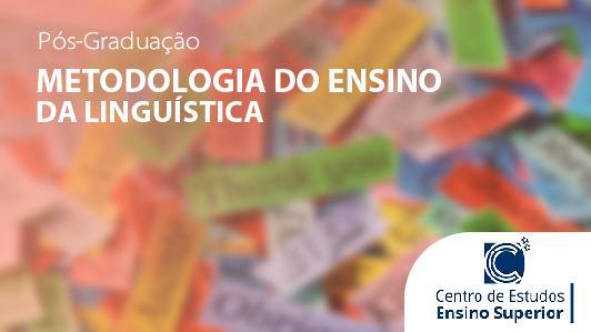 Metodologia do Ensino da Linguística