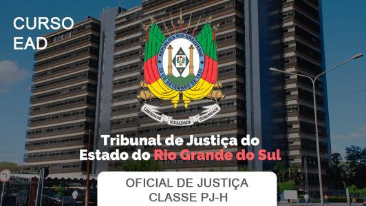 Tjrs Oficial De Justiça Classe Pjh