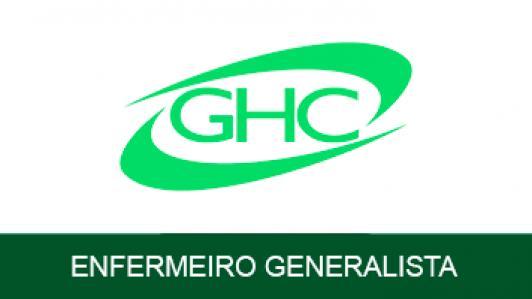 Grupo Hospitalar Conceição Ghc  Enfermeiro Generalista - Conhec Específicos