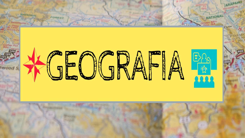 Geografia EJA ETAPA 1